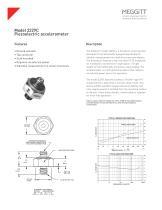 Model 2229C Piezoelectric accelerometer