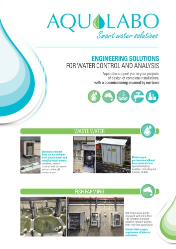 AQUALABO - Engineering Flyer
