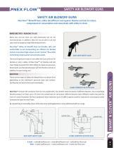 Safety Air Guns from Nex Flow? Easy Grip Safety Gun