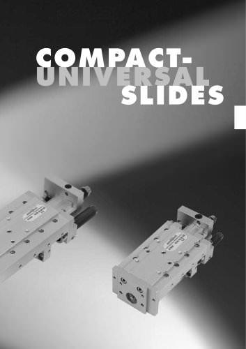 Automation – Compact universal slides KUS