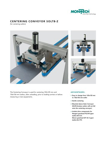 Centering Conveyor SOLTB-Z