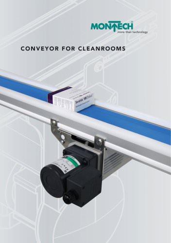 Conveyor for cleanrooms TBR