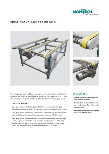 Multitrack Conveyor MTB