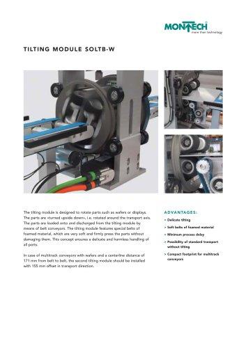 Tilting Module SOLTB-W