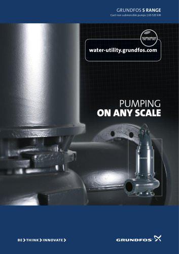 GRUN DFOS s range Cast-iron submersible pumps 1.65-520 kW