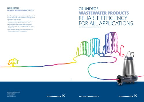 GRUNDFOS WASTEWATER PRODUCTS