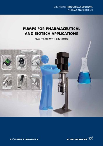 pumps for pharmaceutical and biotech applications
