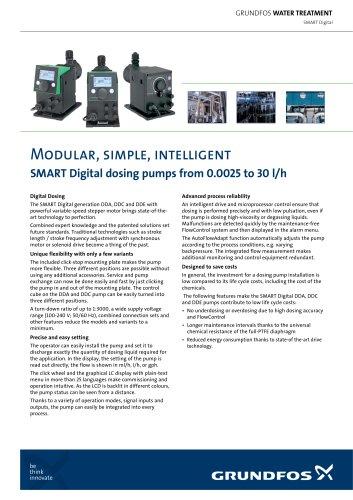 SMART Digital dosing pumps