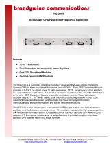 RG-2100 Redundant GPS Reference Frequency Generator