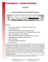 RTG-510 GPS Range Time Code Processor