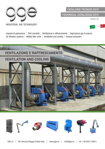 Air ventilation and cooling