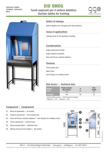 DID SMOG – Suction table for welding
