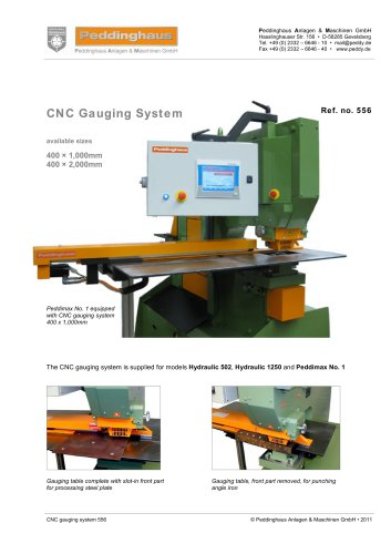 CNC Gauging System