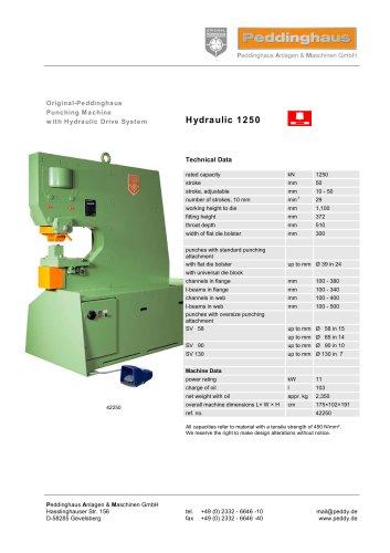 Hydraulic 1250