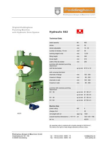 Hydraulic 502