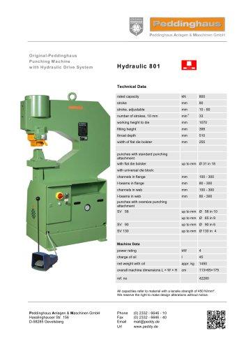 Hydraulic 801
