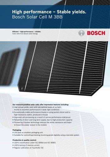 Bosch Solar Cell M 3BB