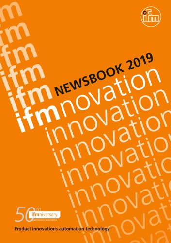 IFM NEWSBOOK 2019 - ifm electronic - PDF Catalogs ... on