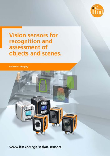 Industrial imaging 2016. Vision sensors for recognition and assessment of objects and scenes.