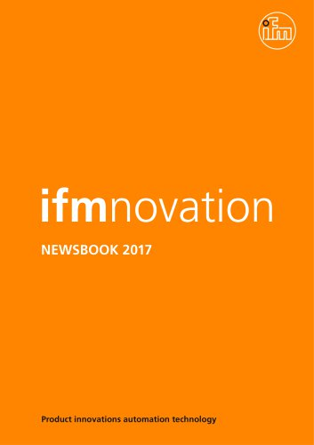 newsbook ifmnovation - Product news 2017