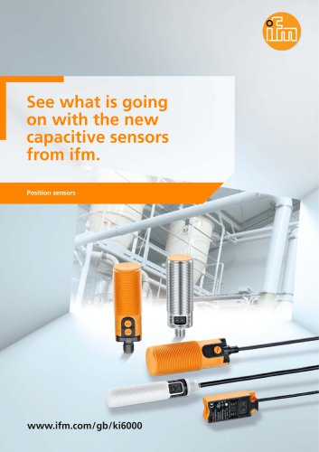 See what is going on. Only with the new capacitive sensors from ifm.