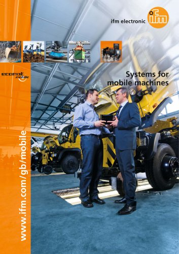 Systems for mobile machines 2016