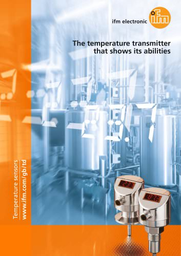 The temperature transmitter that shows its abilities.