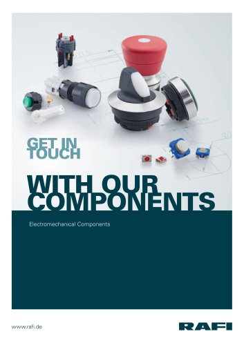 """Chapter 0 """"General"""" from the catalogue ?Electromechanical Components 2015"""""""