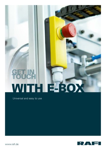 E-Box – universal and easy to use