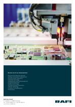Electronic Manufacturing Services – Quality and reliability at the highest level - 12