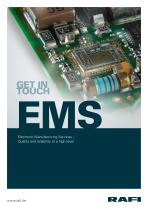 Electronic Manufacturing Services – Quality and reliability at the highest level - 1