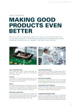 Electronic Manufacturing Services – Quality and reliability at the highest level - 9