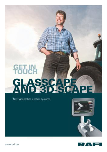 GLASSCAPE and 3D-SCAPE - Next generation control systems