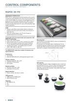 RAFIX 30 FS + control components, perfect design - 2