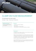 CLAMP-ON FLOW MEASUREMENT - 1