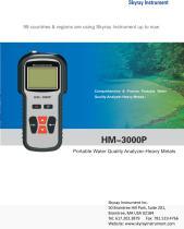HM-3000P Portable Water Quality Analyzer