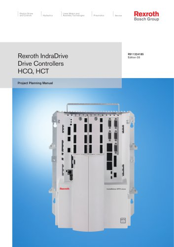 Drive Controllers HCQ, HCT