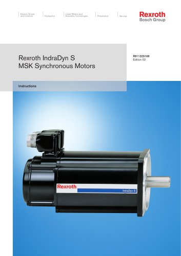MSK Synchronous Motors
