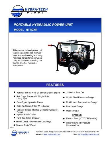 Compact Diesel Hydraulic Power Unit