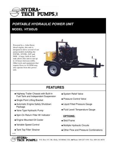 Diesel Driven Hydraulic Power Unit
