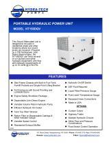 PORTABLE HYDRAULIC POWER UNIT MODEL HT150DQV