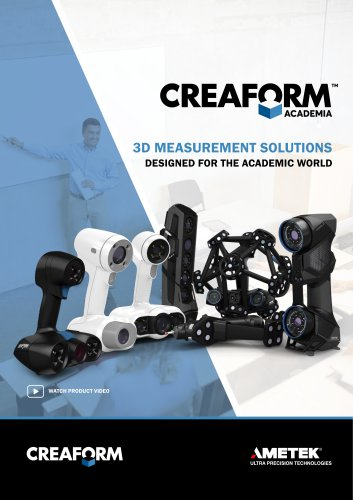 ACADEMIA -3D Measurement Solutions designed for the academic world