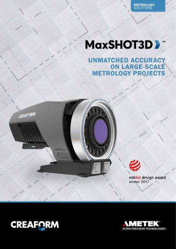 MaxSHOT 3D: Your shot at photogrammetry