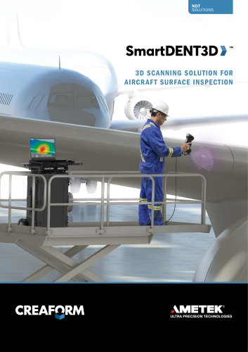 SmartDENT 3D-NDT Surface Inspection for the Aerospace MRO Industry