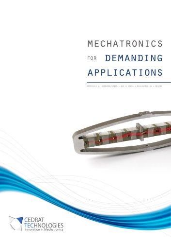 mechatronics for demanding applications