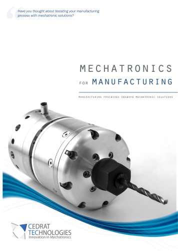mechatronics for manufacturing