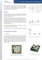 Piezo microscanning mechanisms - 1