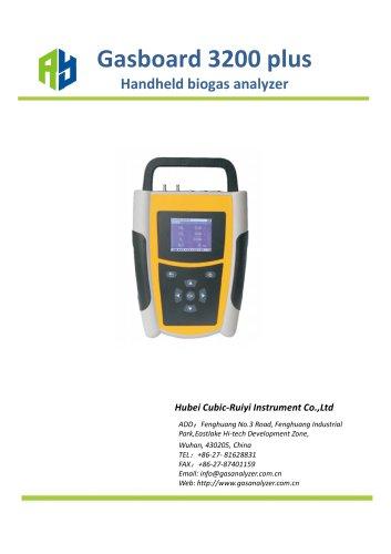 2.Handheld Infrared Biogas Analyzer – Gasboard 3200 plus
