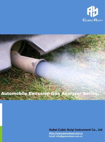 Automobile Emission Gas Analyzer Series-Cubic-Ruiyi