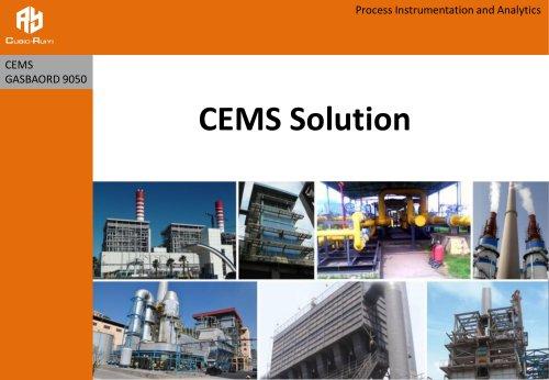 CEMS Solution - Gasboard 9050